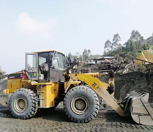 广东河源紫金砂石铲车称重器