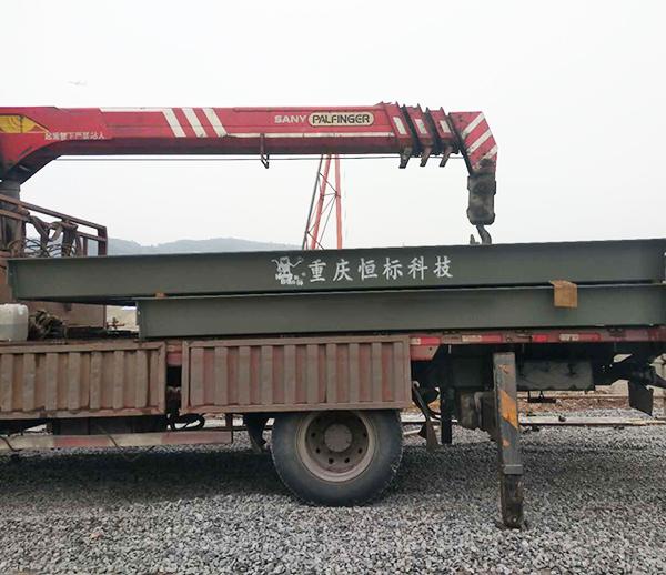 重庆渝北建筑工地100吨地磅秤