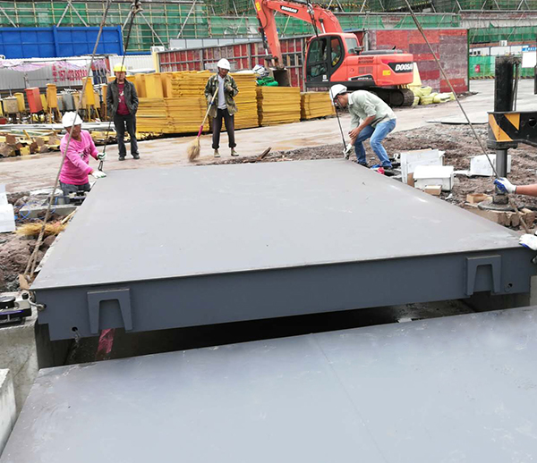 重庆丰都水泥厂150t地磅