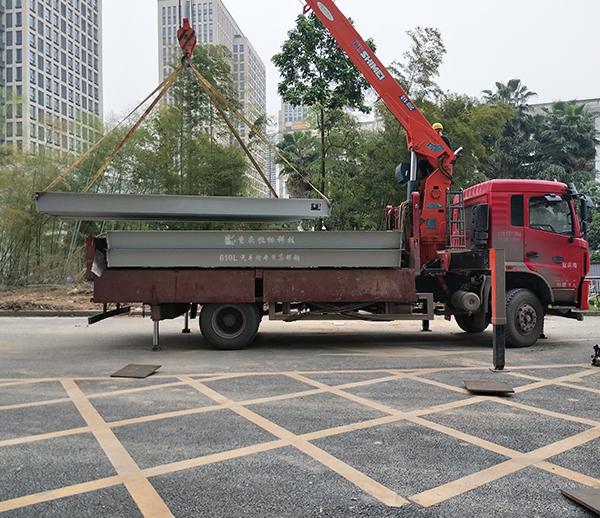 中冶建工集团100吨地磅安装