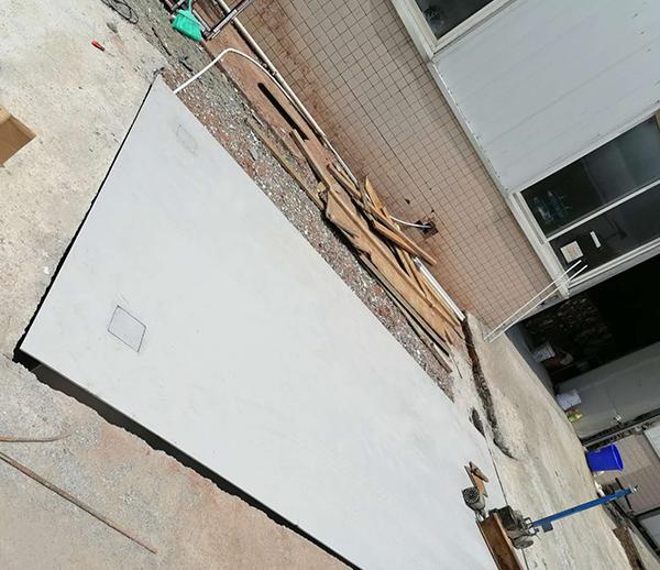 贵州六盘水3*5米 30吨小吨位地磅安装