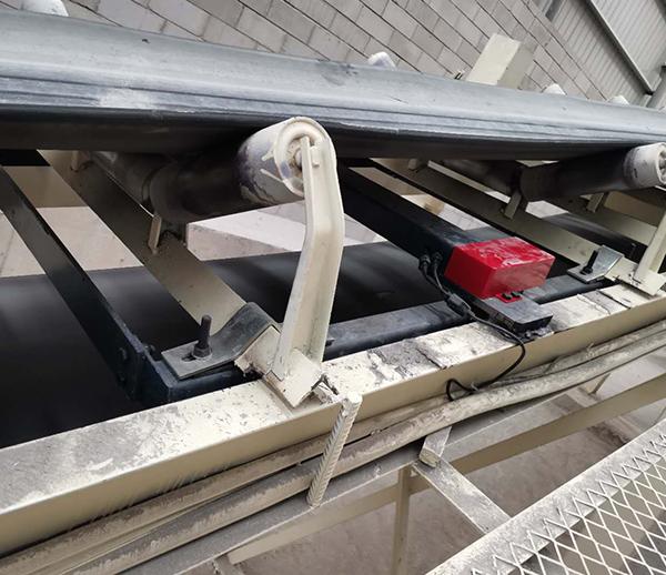 重庆忠县聚钡混凝土有限公司皮带秤安装
