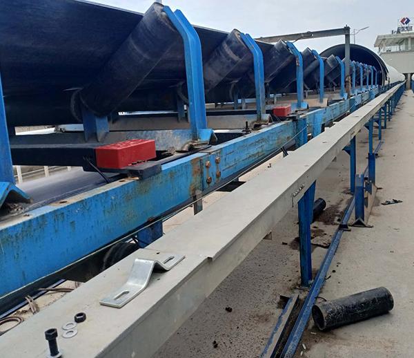 安徽池州中国水电八局砂石厂皮带秤安装